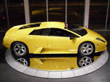 2002 Lamborghini Murcialago yellow coupe