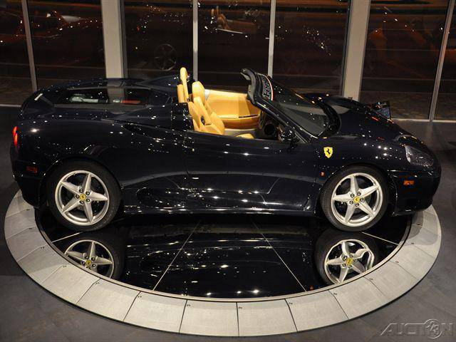 2004 Ferrari 360 Modena Spider F1. This car is for sale.